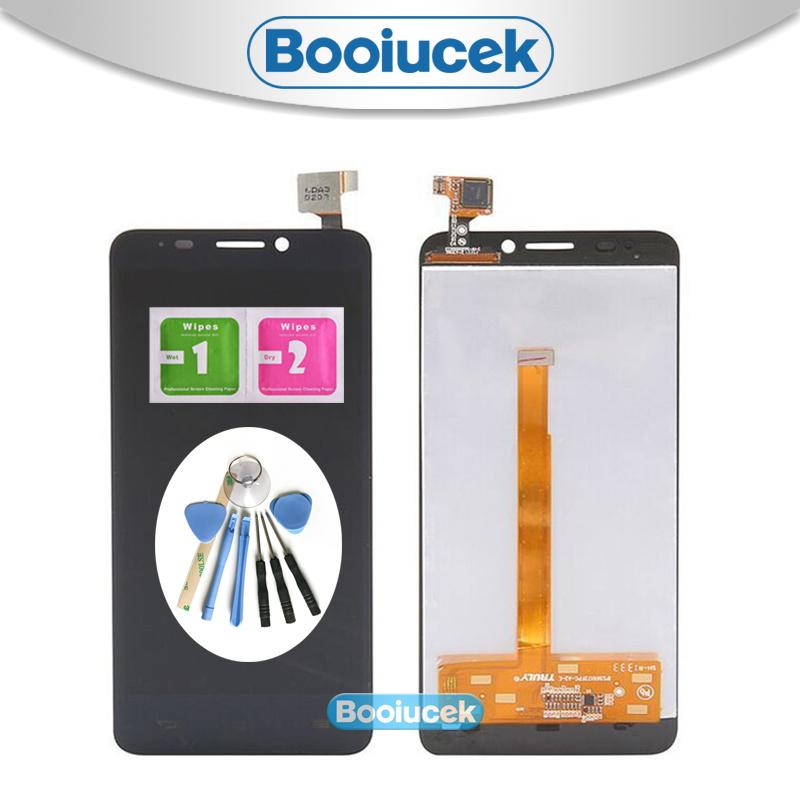 High Quality 5.0'' For <font><b>Alcatel</b></font> One Touch Idol S 6035 OT6035 <font><b>6035R</b></font> 6035Y LCD Display Screen With Touch Screen Digitizer Assembly image
