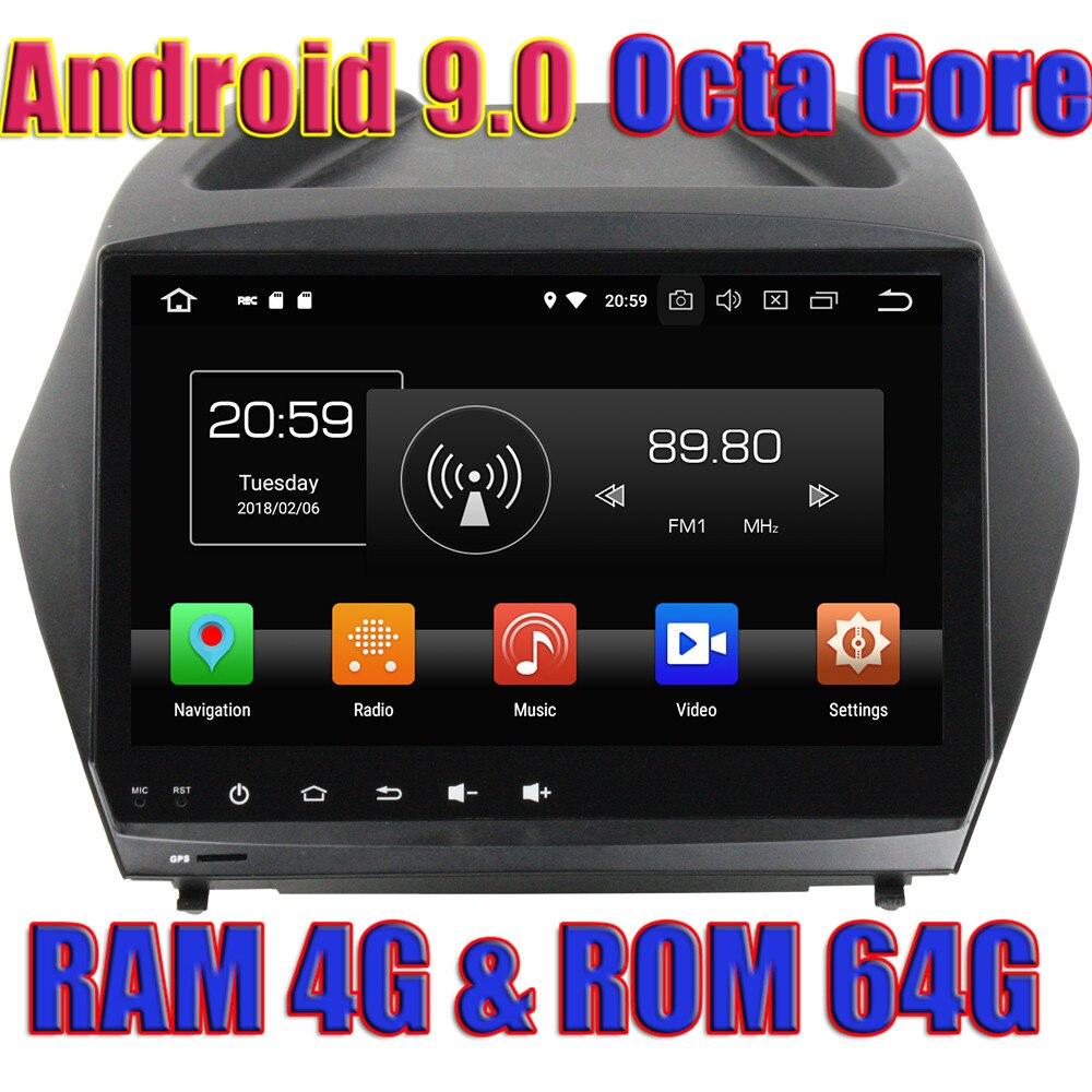 Wanобычный Восьмиядерный Android 9,0 Автомагнитола для hyundai IX35/Tucson 2011 2012 2013 2014 2015 gps навигация 2Din без DVD