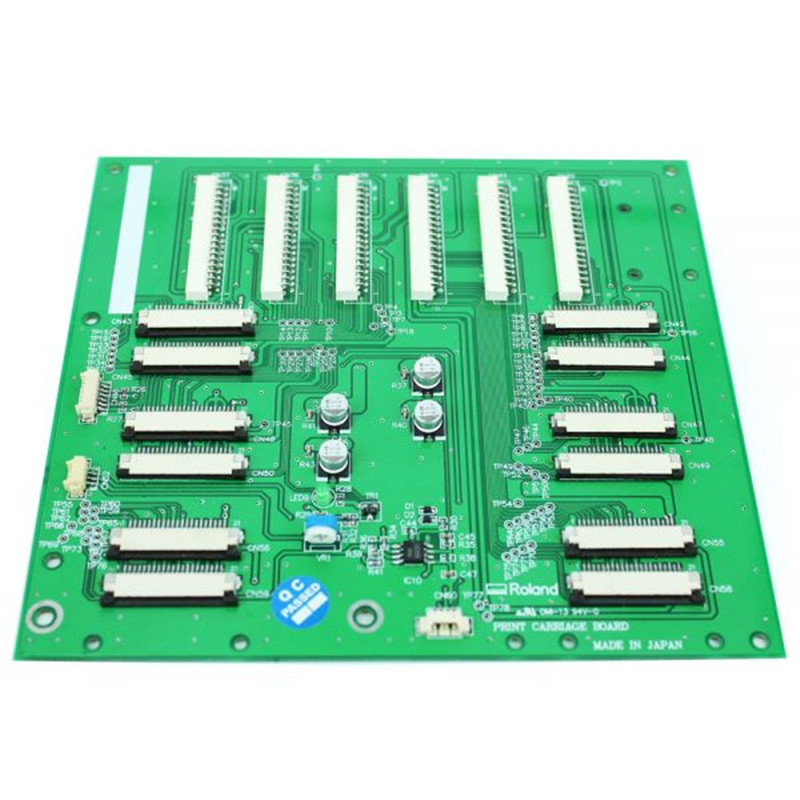 Whole sales!!Roland Print Carriage Board for Roland CJ-540 FJ-540 FJ-740 SJ-540 SJ-740 SJ-745EX SJ-1000 SJ-1045EX Roland SC-540 cap station cap top for roland sj 540 740 545ex 745ex 1045 fj 540 740 sp 300 540 sc 540 xc540 printer