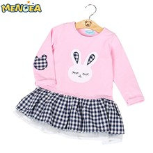 Menoea-2016-Autumn-Girls-Dress-Casual-Style-Long-Sleeve-Cartoon-Cute-Baby-Girl-Clothes-Bunny-Print