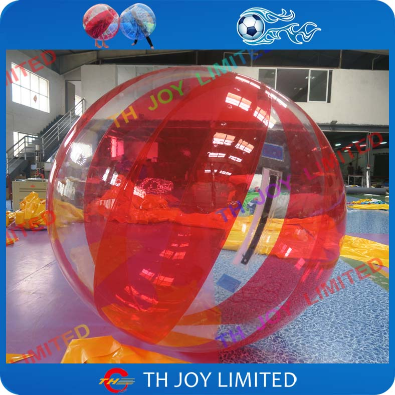 Entertainment Friendly Free Shipping 0.8mm Pvc 2m Inflatable Water Walking Ball Pool Float Water Balloon Zorb Ball Inflatable Human Hamster Ball Water Play Equipment