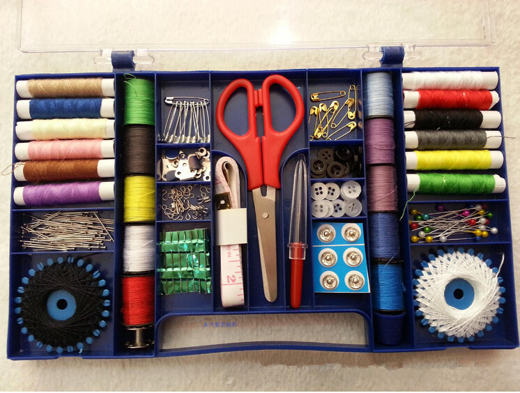 Diy materials handmade handmade household sewing box for Sewing materials