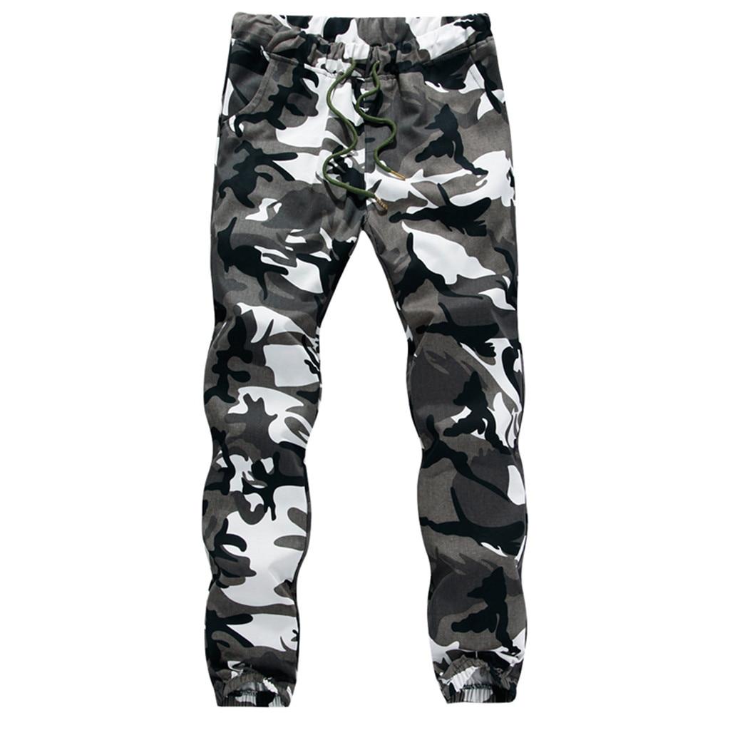 M-5XL Men's Printed Stretch Camouflage Pants Men's Large Size Fashion Sports Trousers Men Sweatpants Dropshiping W625