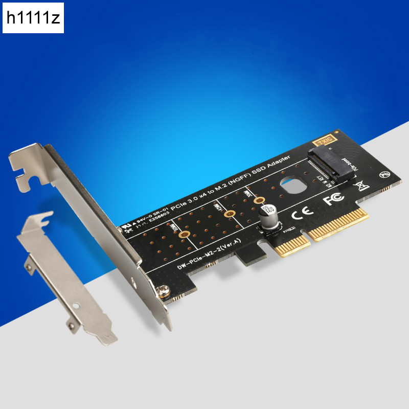 NEW PCI-E PCI Express 3.0 X4 to NVME M.2 M KEY NGFF SSD PCIE M2 Riser Card Adapter Support 2230 2242 2260 2280 Type M.2 SSD