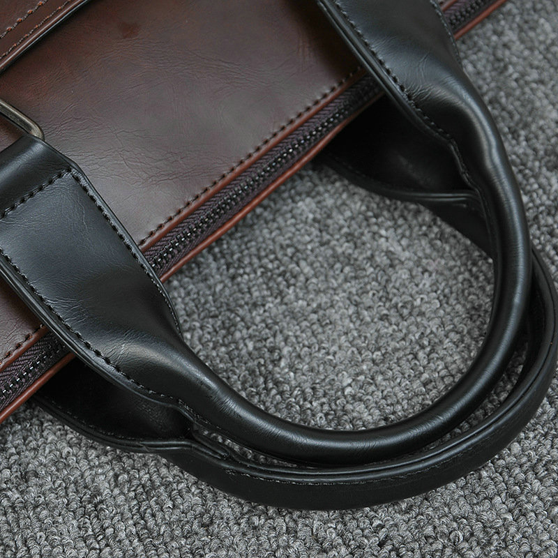 New Design PU Leather Briefcase for Men 12