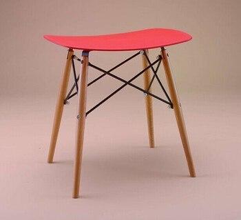 100% деревянных барный стул, Дерево и пластиковый стул, Красный белый, Синий, Обеденный стул, Гостиная мебель, Ждать стул