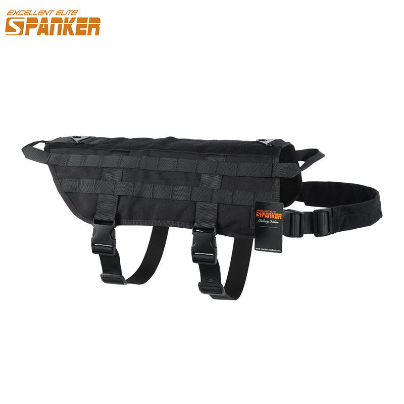 EXCELLENT ELITE SPANKER SPANKER Tactical Dog Tranning Vest Molle - Sportswear and Accessories - Photo 1