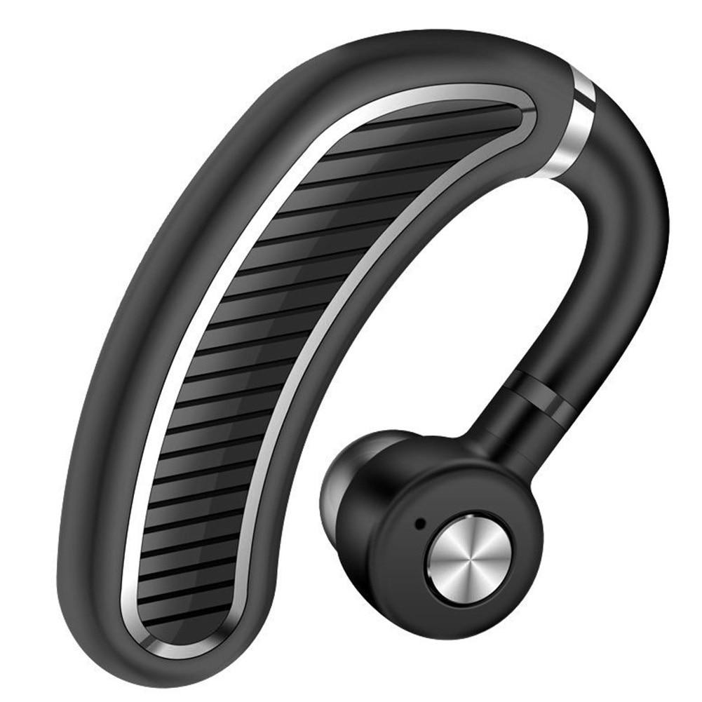 Earphone Business HD Portable Single Driver Ear Hook Handsfree Sports Earphone Lightweight Bluetooth