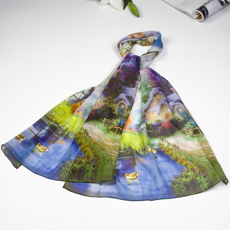 Шелковый шарф, женский шарф, Шелковый платок, дизайнерский шарф, женский шелковый шарф, тонкий Шелковый шарф, роскошный подарок для девушек