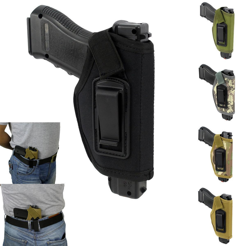 2019 New Style Portable Nylon Gun Holster Cs Field Tactical Subcompact Pistol Holster Waist Case Pouch Holder Coldre Gun Hunting Bag Accessorie Can Be Repeatedly Remolded.