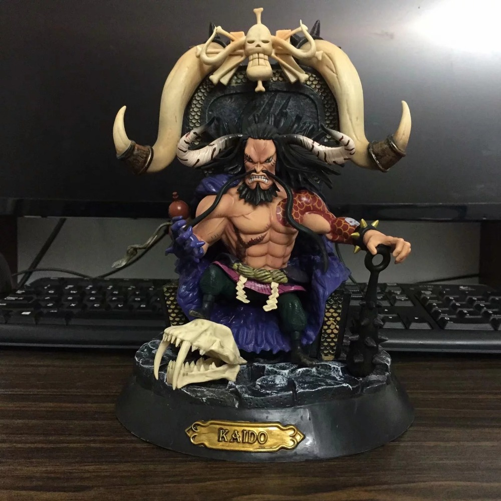 где купить Anime Figure One Piece Four Emperors Kaido Brinquedos PVC Action Figure Juguetes Collection Model Doll Kids Toys Toy по лучшей цене