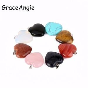 GraceAngie Love Heart Pendant