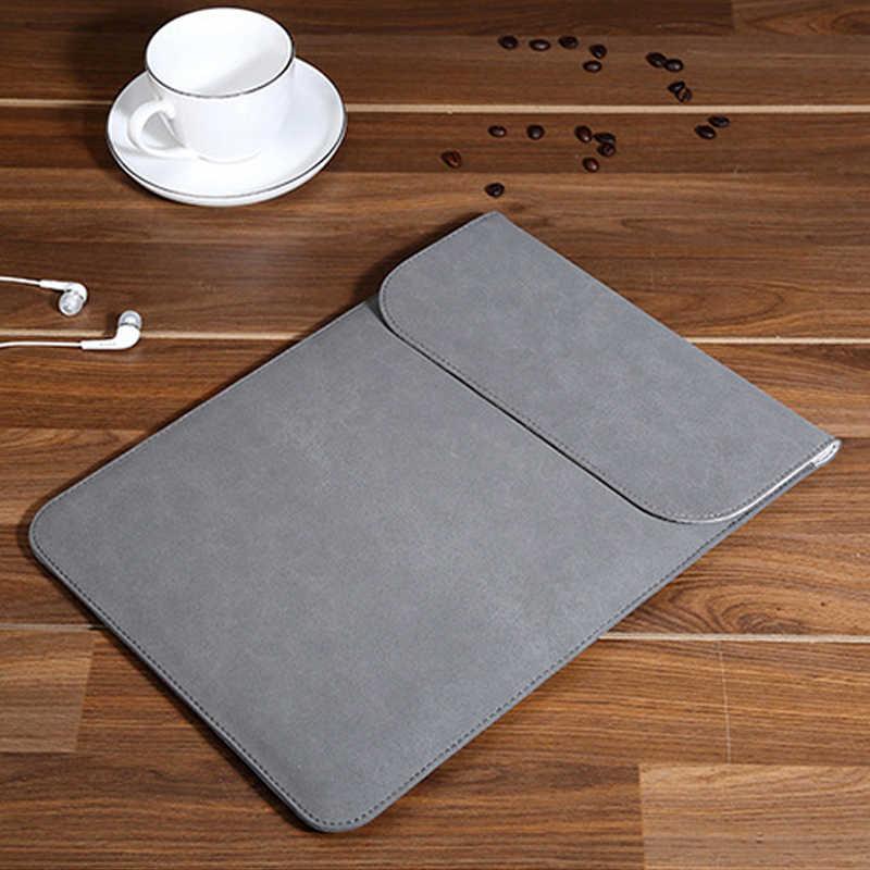 2019 nowa moda torba na laptopa dla Macbook Air Pro Retina 11 12 13 15 dotykowy Notebook Case dla Xiaomi 15.6 funda matowy okładka