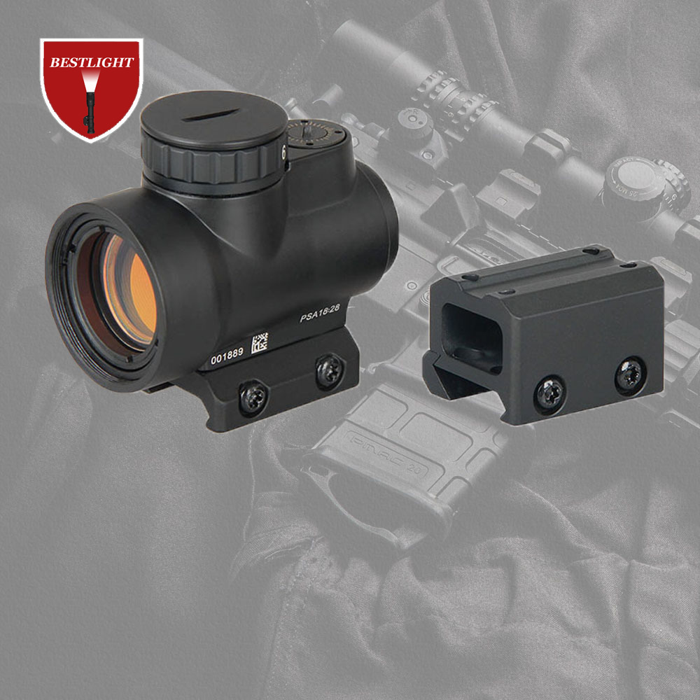 MRO Red Dot Sight 2 MOA AR Tactical Optic Trijicon Hunting Scopes With Low and Ultra High QD Mount fit 20mm Rail