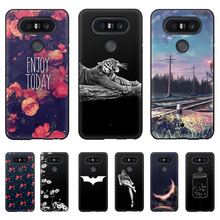 Soft Tpu Silicone Cases For LG Q8 Case Back Covers For LG Q8 Phone Cover Full 360° shockproof Painted Coque Mobile Phone Case цены