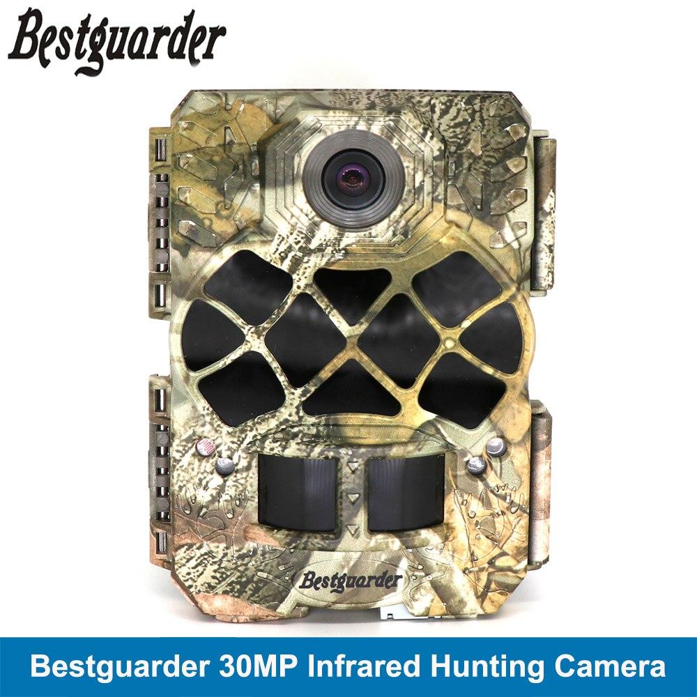 Scouting chasse caméra Trail jeu sauvage piège caméra 30MP 1920 P Full HD Cam & 48 pièces 940nm IR LEDs Vision nocturne IP68 0.2 s déclencheur