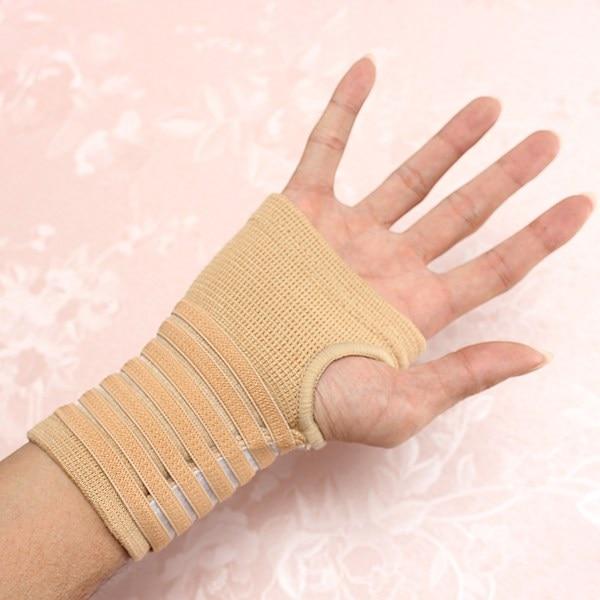 Professional 1 Pcs Sport Hand Support Wrist carpal Tunnel tennis Sleeve Splint Brace Wrap Gym Wrist sleeve Safety Bandage