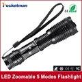Zk50 CREE XM-L T6 4000LM люменов НОВЫЕ Поступления e17 высокой мощности светодиодный фонарик T6 фонарик масштабируемые Водонепроницаемый фонарик