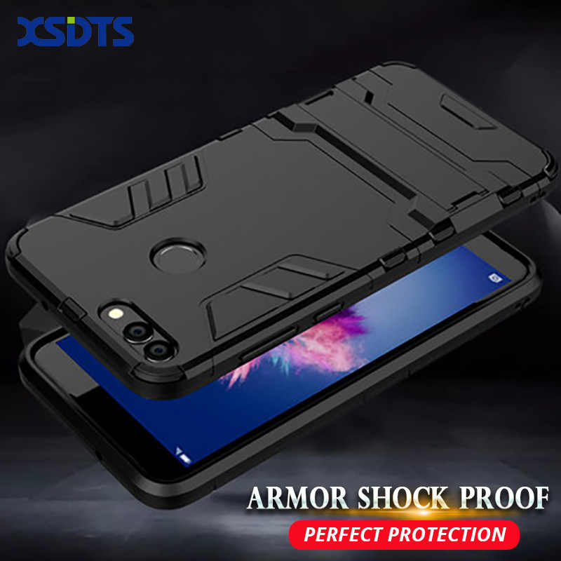 XSDTS PC+Silicone Case For Huawei Y5 Y6 Y7 Prime Y9 2018 2019 Iron Man Anti Shock Proof Hybrid Defender Phone Cover