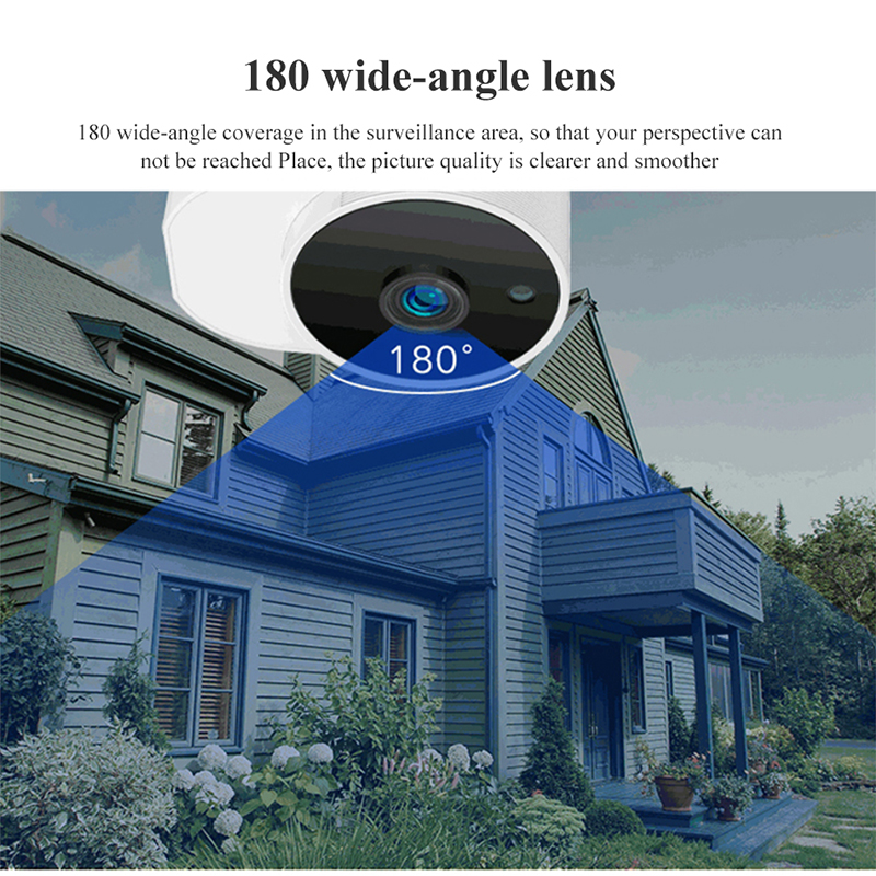 Image 4 - Xiaovv Outdoor Panoramic Camera Waterproof Surveillance Camera  Wireless WIFI High definition Night vision360° Video Camera   -