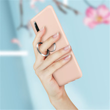 Shock proof Phone Case original silicone cover For iPhone 7 6 6s 8 X Plus coque iphone XS Max XR  Solid Color Ultra thin Cover