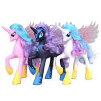 Nuovo 22 Centimetri My Little Pony L'amicizia È Magica Principessa Celestia Cadance Luna Figura di Azione Della Bambola Giocattolo Regalo di Natale per regali per Bambini