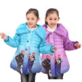 Children's Kids fashion coats jacket Girls' winter coat Cotton padded clothes Kids Clothing Princess Children Outerwear Coat
