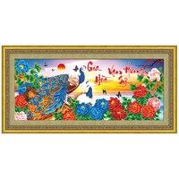 SHANSHIYOUPIN Вьетнам Феникс рукоделие diy картина, вышитая бисером Алмазная мозаика круглый 5D Алмазная вышивка Y533