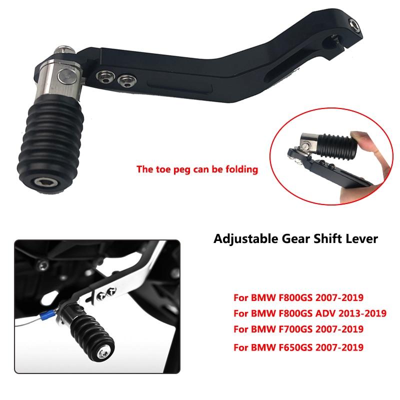 For BMW F650GS ADV F700GS F 800GS F800GS ADV Motorcycle CNC Aluminum Adjustable Folding Gear Shifter
