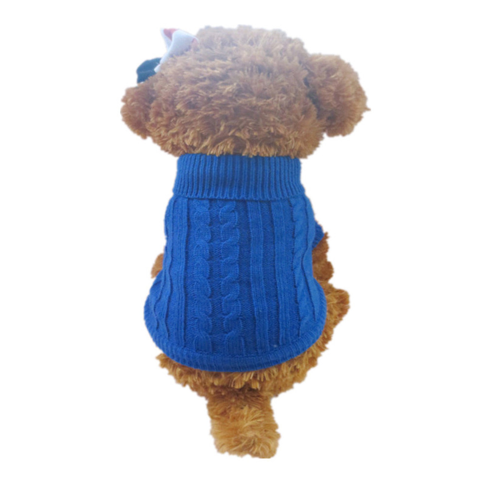 Small Dogs Costume Clothes For Little Dogs Overalls New Pet Dog Puppy Warm Clothes Knit Weaved Sweater Doggy Apparel