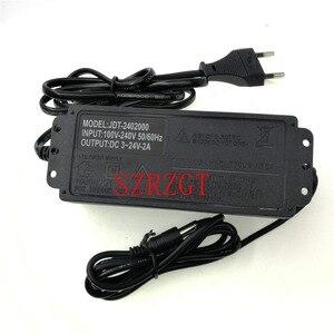 Image 3 - محول الطاقة قابل للتعديل إلى dc3vخزف 24 فولت 9 فولت شاشة عرض محول الطاقة شاحن adatpor 3 12 24 فولت