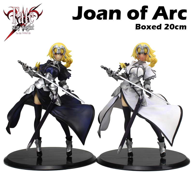 Free Shipping 8 FSN Anime Fate Apocrypha Joan of Arc Saber Lily Sword Ver. Boxed 20cm PVC Action Figure Model Doll Toys Gift