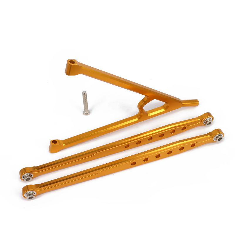 Alloy aluminum front suspension link rod chassis linkage for Suspension rond