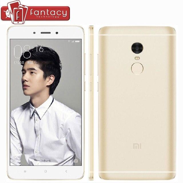 """Оригинал Xiaomi Редми Примечание 4 Pro 3 ГБ 64 ГБ MTK Helio X20 дека Core Fingerprient ID FDD LTE 4 Г 13MP 4100 мАч 5.5 """"1080 P Мобильный телефон"""