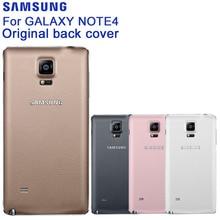 SAMSUNG Original Back Cover Phone Shell For Samsung GALAXY NOTE4 N9100 N9108V SM-N9100 N910U N910F N910H SM-N910G SM-N910C N910 аккумулятор для телефона craftmann eb bn910bbe с датчиком nfc для samsung galaxy note 4 sm n910c sm n910f sm n910g sm n910h sm n910m sm n910u