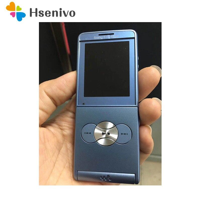 W350 100% Original Unlokced Sony Ericsson W350C Mobile Phone 2G Bluetooth 1.3MP Camera FM Unlocked Cell Phone Free Shipping