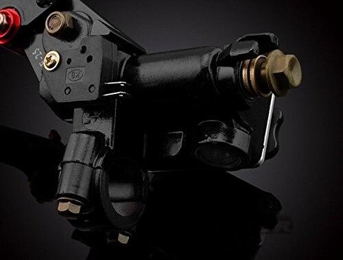 """""""Универсальный 7/8""""""""(22 мм) Цвет Черный тормоз сцепление рычаги главный цилиндр водохранилище комплект"""""""