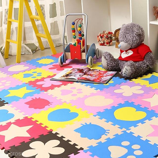 10pcs Soft Eva Foam Mat Pad Diy Puzzle Floor Baby Kids
