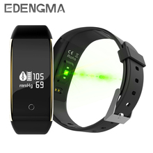 EDENGMA V9 Blood Pressure Heart Rate Monitor Smart Wristband Fitness Activity Tracker Watch for iOS Android Phone