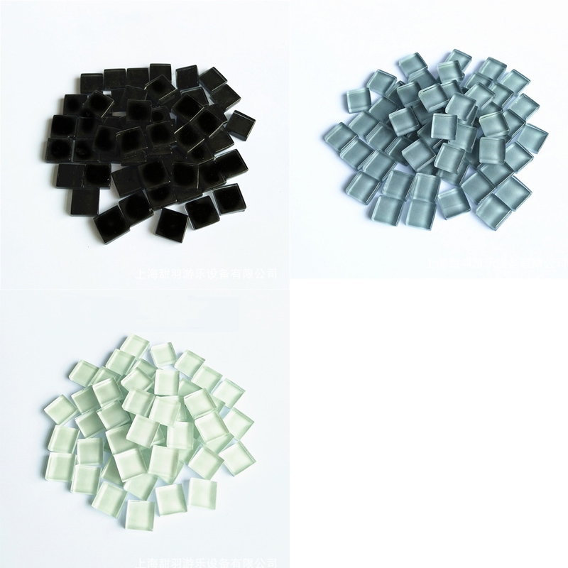 Craft Material Mixed Colors Creativity Toys Tiny Mini Mosaic Tile Crystal Free Stone Micro Glass DIY Hobbies