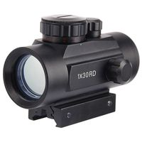 10cm Length Tactical Holographic Sight 1x40mm Cross Hari Red Dot Sight Scope Riflescope With 30mm Rail