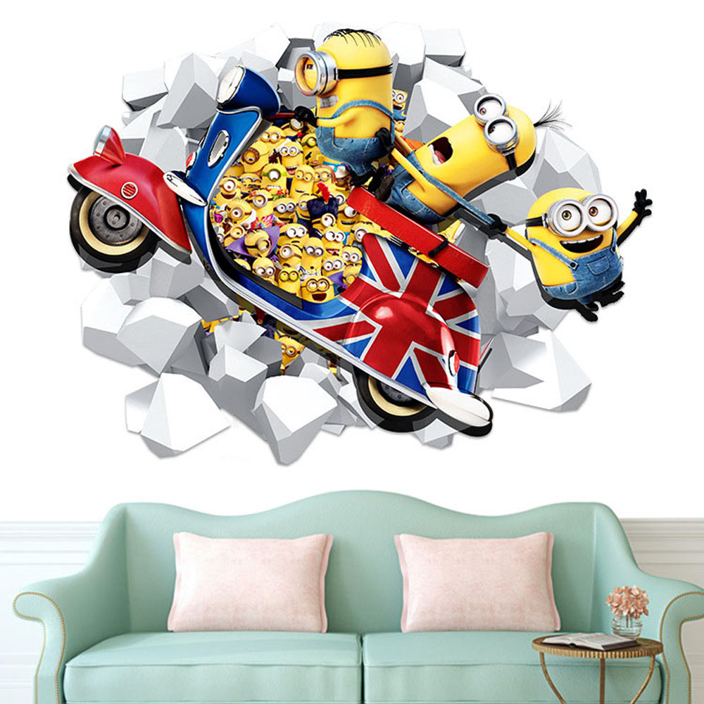 Gambar Wallpaper Dinding Minion Kampung Wallpaper