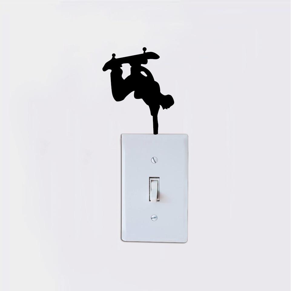 Modern On Light Switch Crest