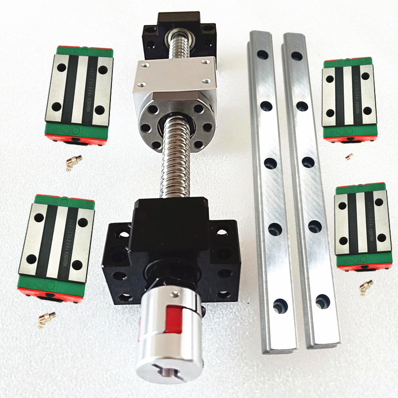 <font><b>16</b></font> HGH25CA Square HGR25-600/<font><b>800</b></font>/1000/1000 Linear guide sets+4xSFU2505-600/<font><b>800</b></font>/1000/1000mm Ballscrew sets+ BK/BF20 image