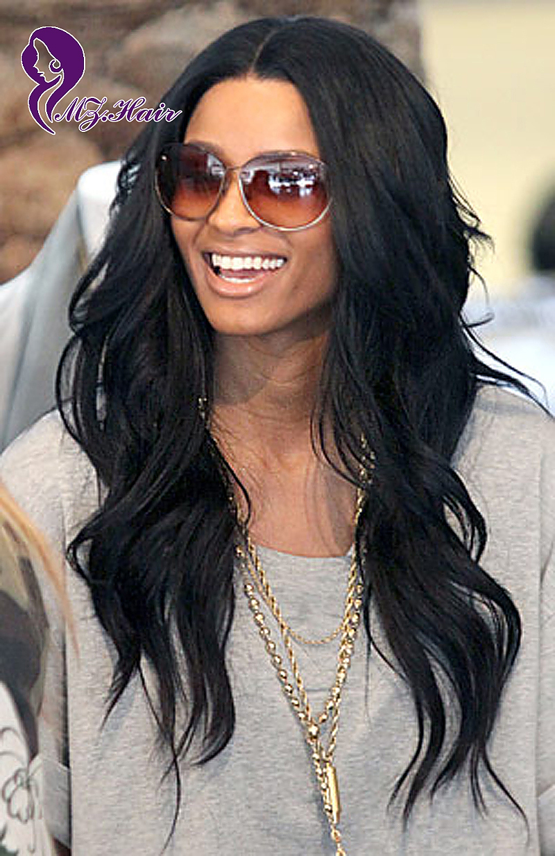 online shop glueless lace front human hair wigs celebrity