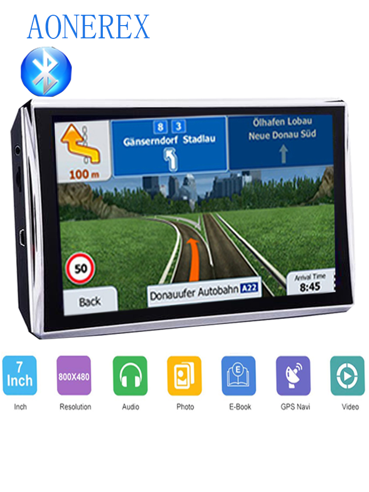 Car Navigation GPS7 Inch LCD Screen FM Bluetooth Navitel Satellite Navigation Car GPS Navigator Car Accessories Multi-country La