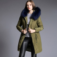 Plus 2016 Winter Jacket Women down jackets Women's Down coats raccoon fur Hood thicken  white duck down coat outerwear Parka