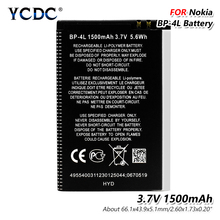 Generic 3.7V 1500mAh BP-4L Battery For Nokia E61i E52 E55 E6 E63 E71 E72 E73 E90 E95 6650F 6650T 6760 N810 N97 Battery Lithium mallper replacement bp 4l 3 7v 1400mah li ion battery for nokia 6790 e52 e55 more orange