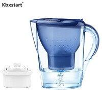 Kbxstart 3.5L Municipal Water Purifier Filter Kettle Water Purification Equipment Household Water Filter Pitcher with Timer