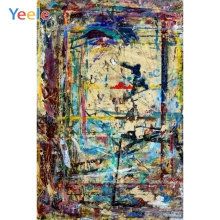 Yeele Graffiti Self Portrait Grunge Abstract Painting Photography Backgrounds Customize Photographic Backdrops For Photo Studio customize vinyl cloth print ocean wonderland wallpaper photo studio backgrounds for portrait photography backdrops props cm 6922